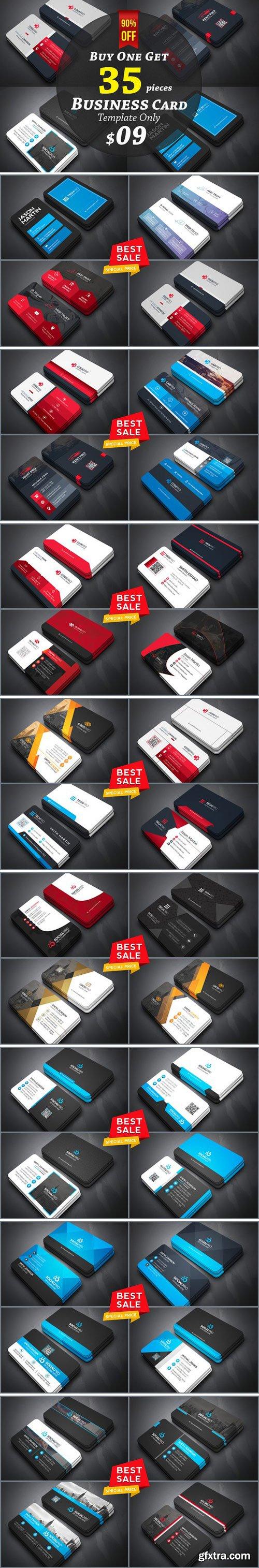 CM - 35 Business Cards Bundle 90% off 2102015