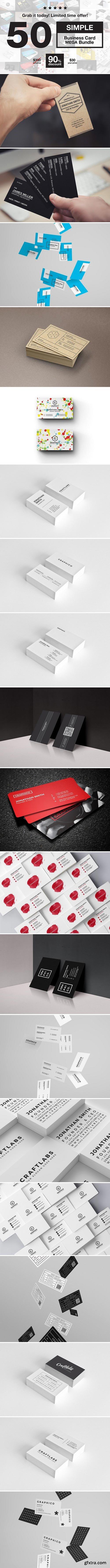 CM - Simple Business Cards MEGA Bundle 2185099