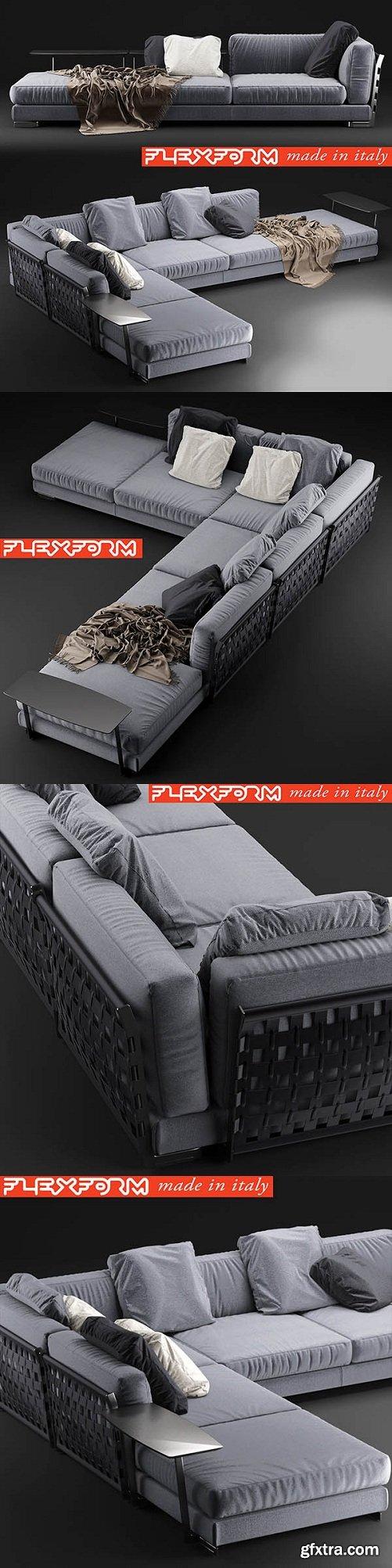Sofa Cestone 09 Flexform