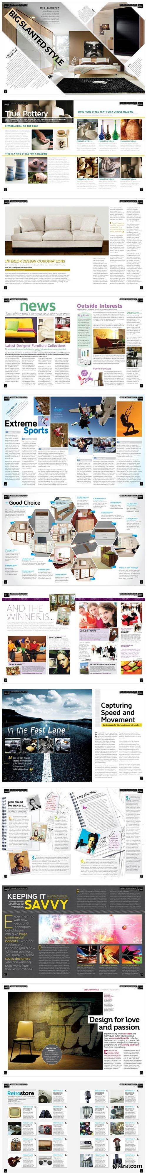 CM - Magazine Template InDesign 02 2359823