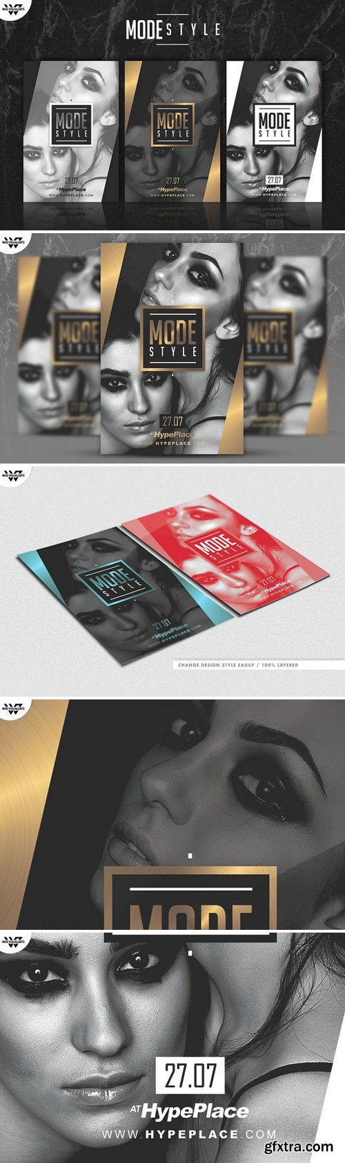 CM - MODE STYLE Flyer Template 2359321