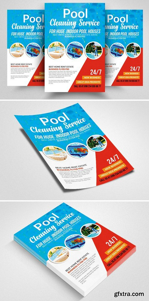 CM - Swimming Pool Cleaning Flyer 2359935