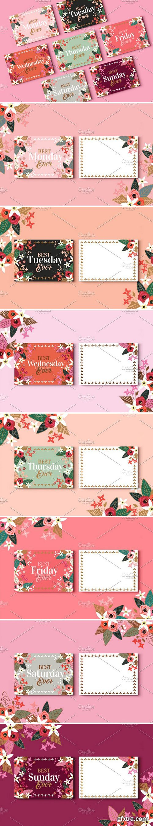 CM - Best Week Ever Greeting Cards 2359933