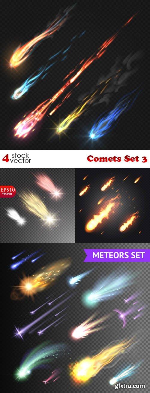 Vectors - Comets Set 3