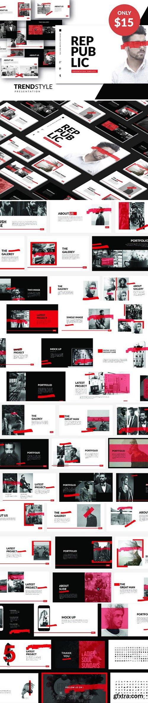 CM - PUBLIC Creative Template Powerpoint 2356398
