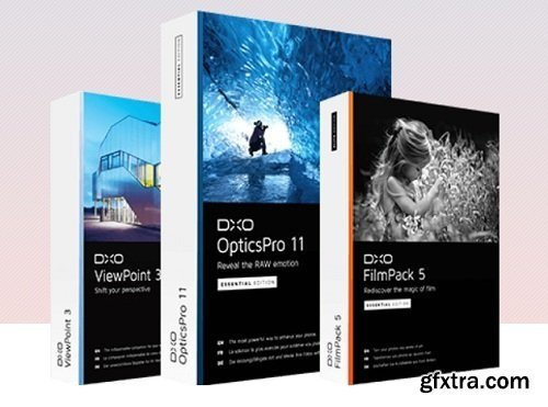 DxO Photo Software Suite (03.2018) Stand-Alone and Plugin for Photoshop & Lightroom WIN