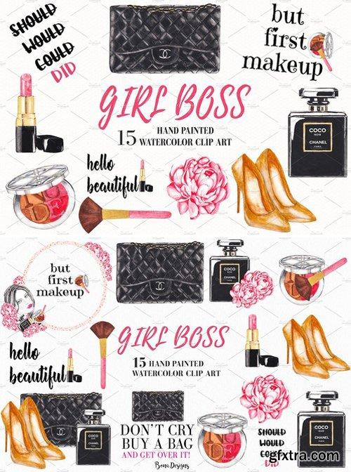 CM - Fashion, Girl Boss, Cosmetic Clipart 2187350