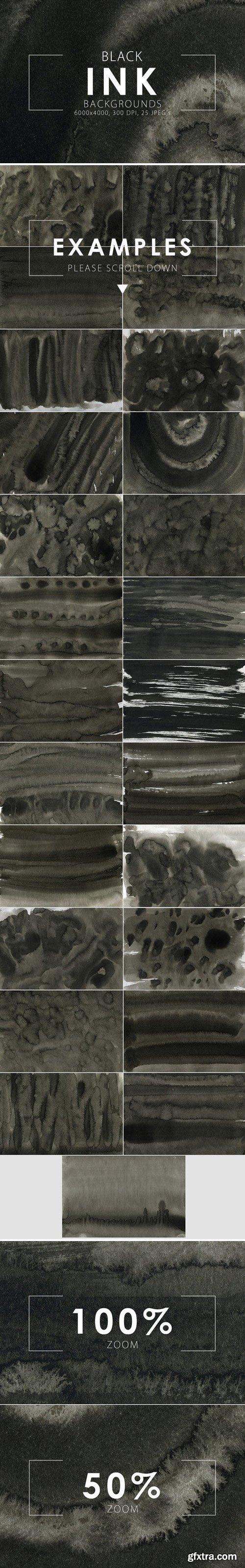 CM - Black Ink Backgrounds 417515