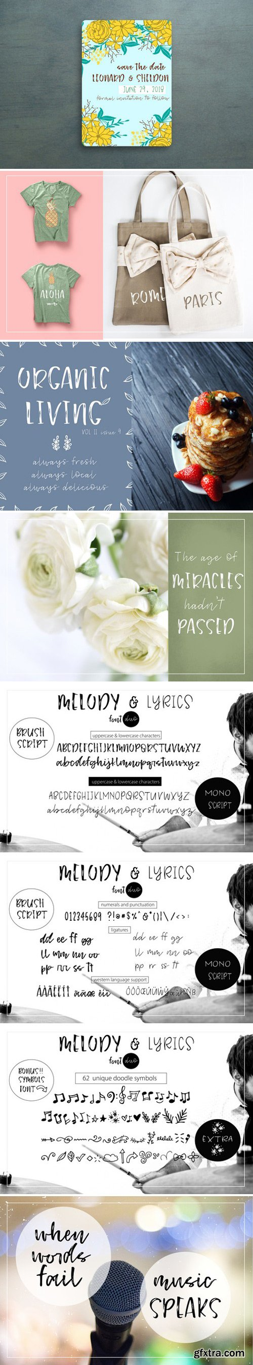 CM - Melody & Lyrics - Font Duo 1624934