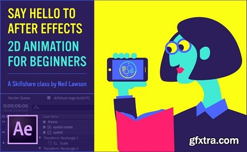 Say hello to AfterEffects - 2D animation for beginners