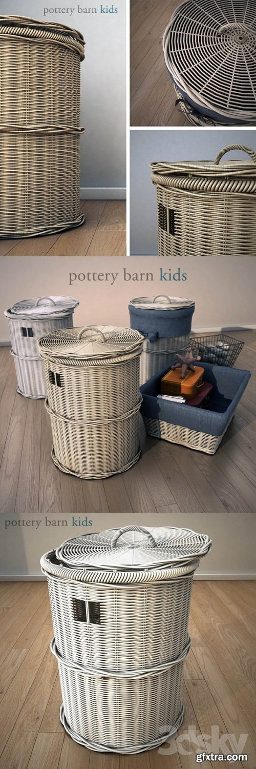 Pottery barn kids, basket