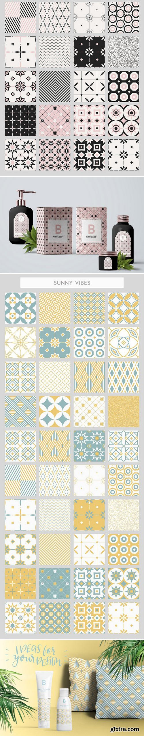 CM - 40 seamless patterns set 1582821