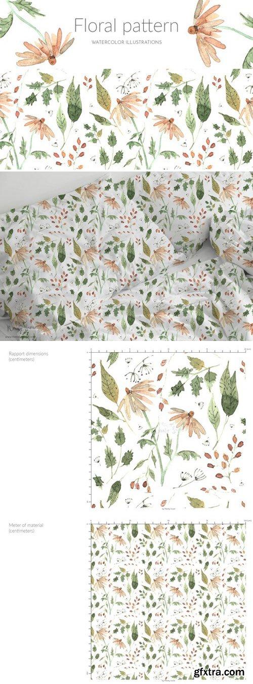 CM - Suface pattern, watercolor flowers 2325017