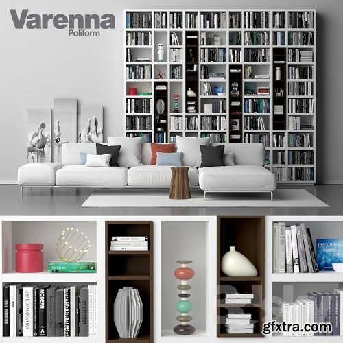 Varenna Poliform DAY SYSTEM 26 3d Model