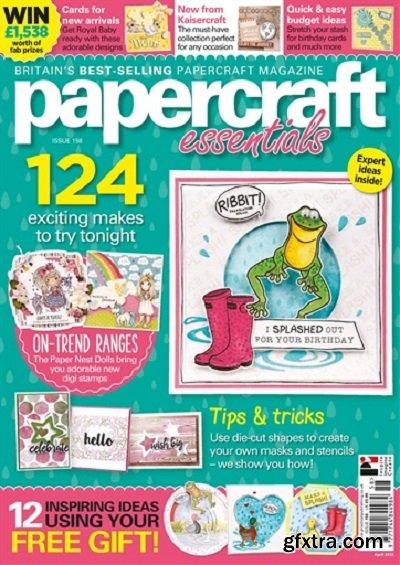 Papercraft Essentials - Issue 158 2018