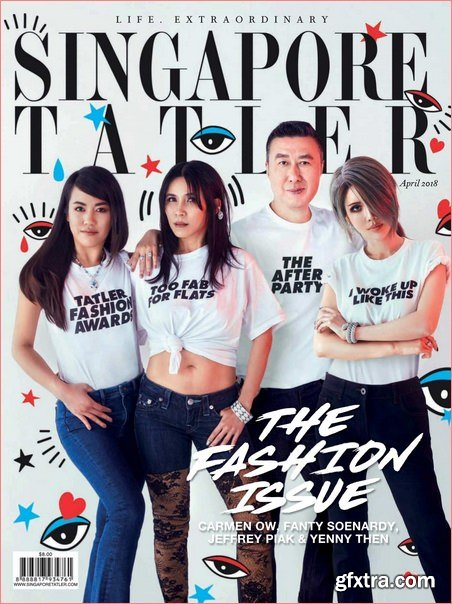 Singapore Tatler – April 2018