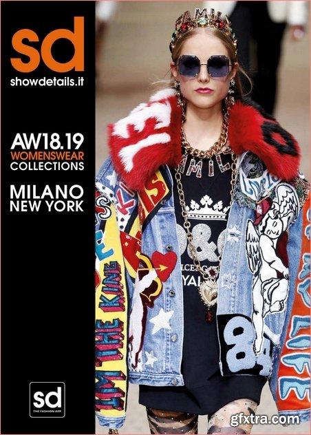 Showdetails Milano & New York - March 2018