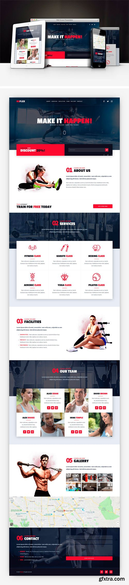CM - Reflex - Fitness Gym Muse Template 2350855