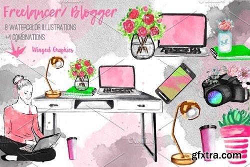 CM - Freelancer / blogger set 2355667