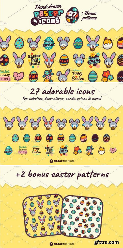 CM - Adorable Easter Icons 2404487