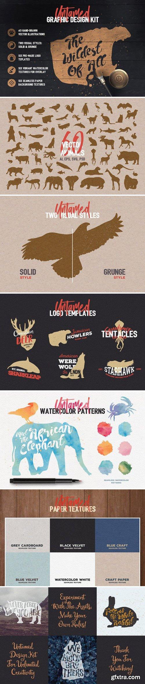 CM - Untamed Graphic Design Kit 1573448