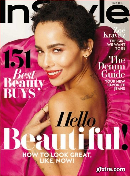 InStyle USA - May 2018