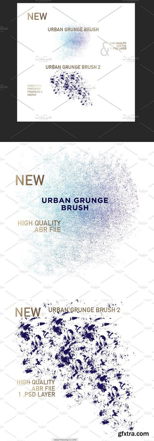 CM - Urban Grunge Brush Set 2379390
