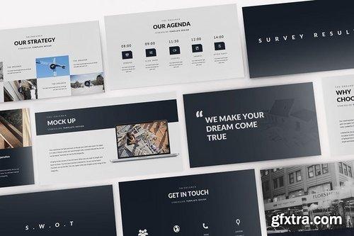Modern Construction Google Slides Template