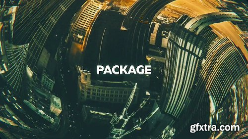 Videohive Distortion Zoom Transitions 21507643