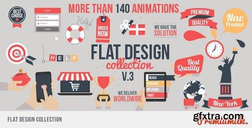 Videohive Flat Design V3 7548532
