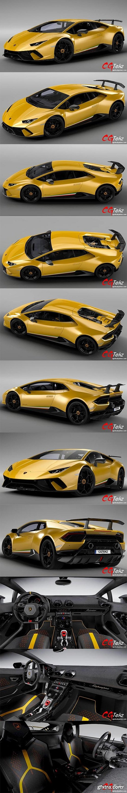 Lamborghini Huracan Performante LP 640-4 2017