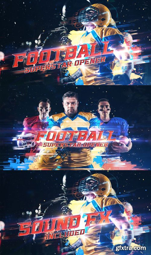 Videohive - Football Superstar Opener - 21583697