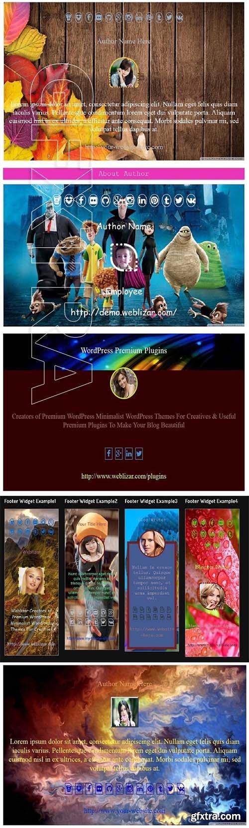 CreativeMarket - About Author Pro WordPress Plugin 2368367