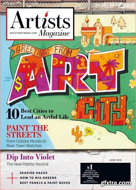 The Artist's Magazine – June 2018