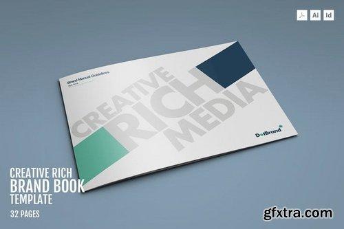 Creative Rich-Brand Book Template » Vector, Photoshop PSDAfter ...