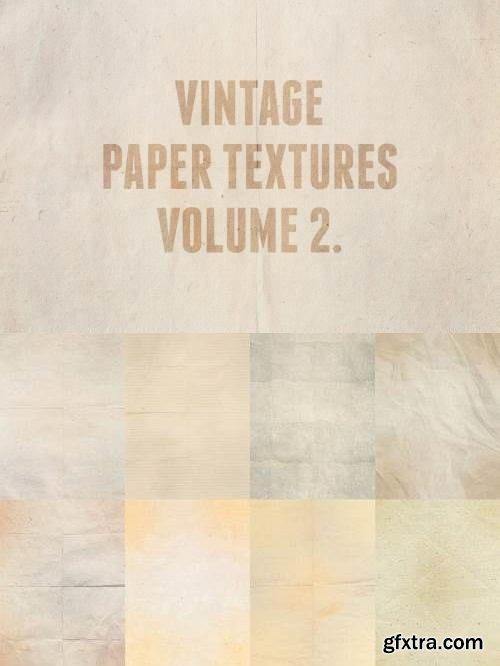 Vintage Paper Textures Volume 2