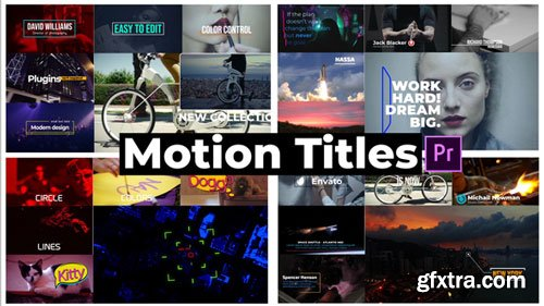 Videohive - Motion Titles - 21671665