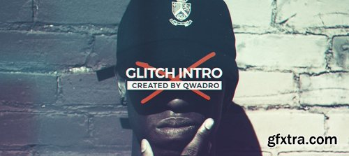 Videohive Modern Glitch Intro 19336232