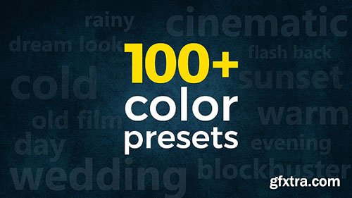Videohive - 3-in-1 Pack: 100+ Cinematic & Wedding Color Presets - 21630012