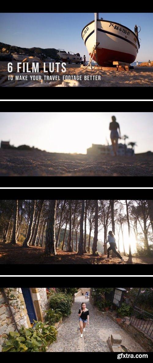 CM - 6 Film LUTs for travel video 2045142