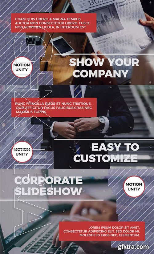 Corporate Presentation - Premiere Pro Templates 77049