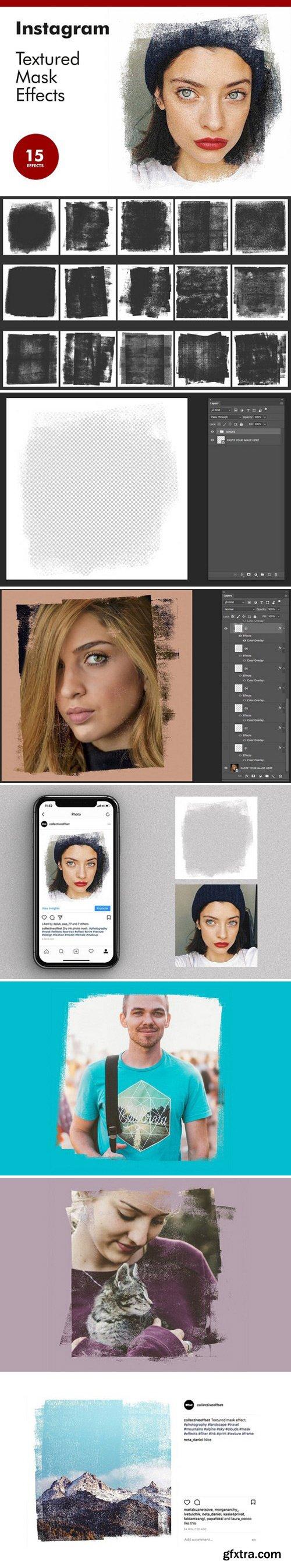 CM - Instagram Textured Mask Effects 2367269