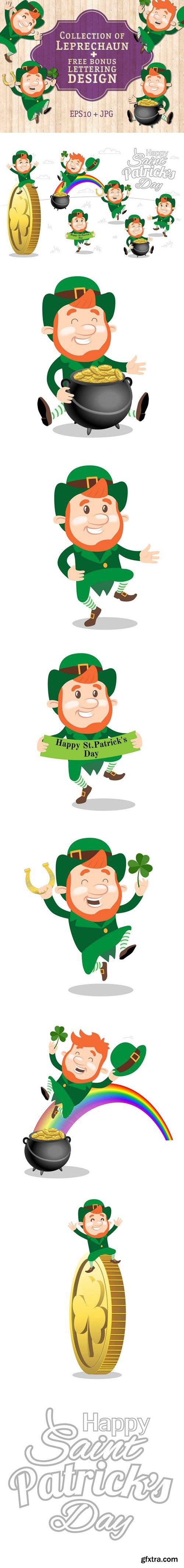 CM - Leprechaun Set for St. Patricks day 2360051