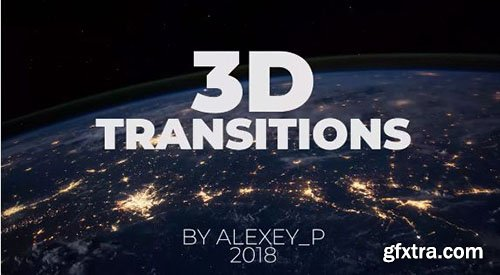 3D Transitions - Premiere Pro Templates 75725