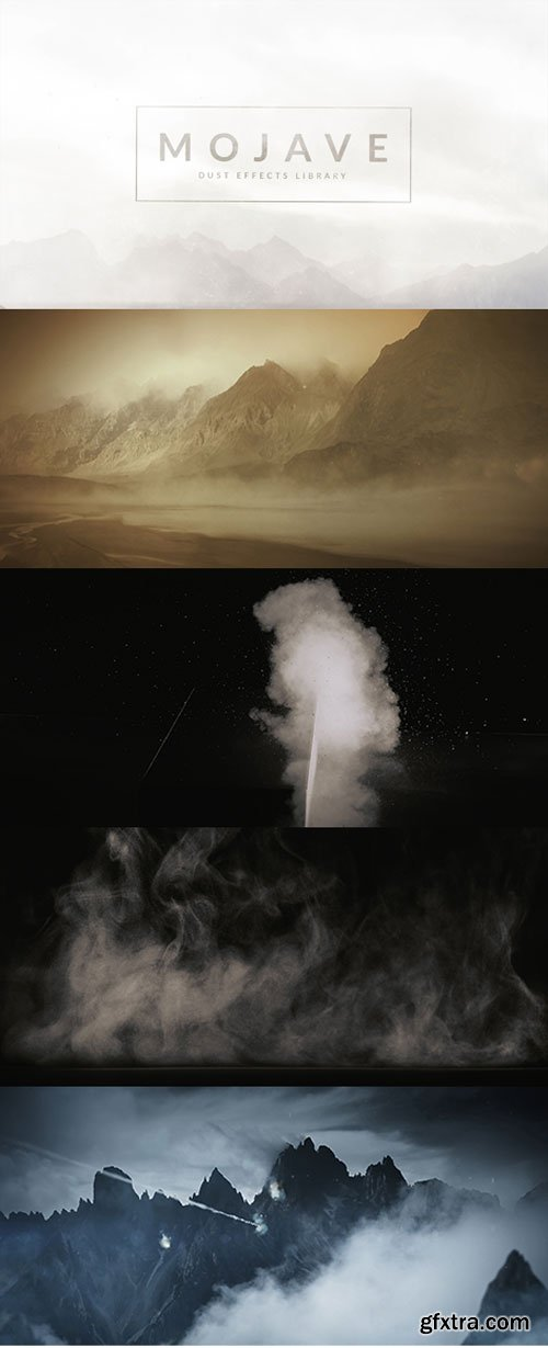 RocketStock - RS3017 - Mojave - 100 Dust Effects