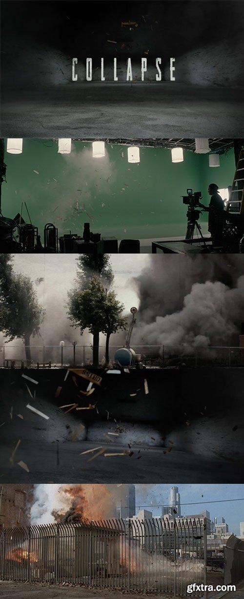 RocketStock - RS3020 - Collapse - 80 Debris Effects
