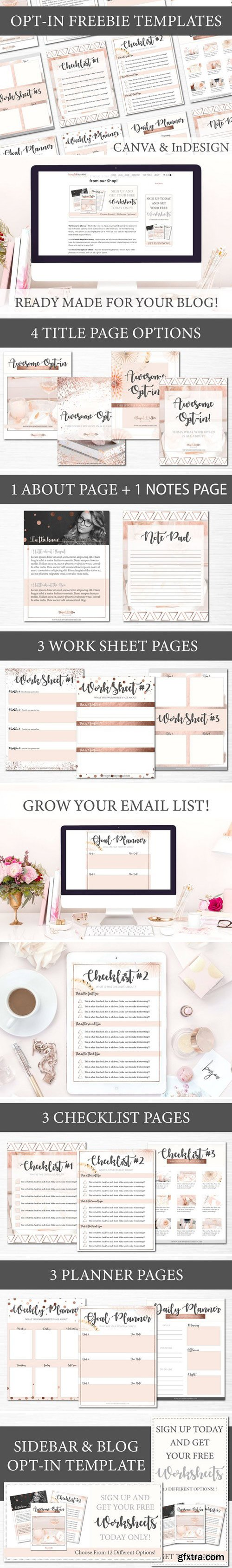CM - Opt-in Freebie Templates - Rose Gold 2405418