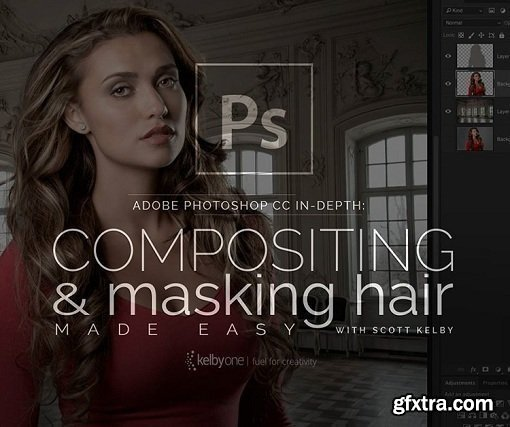 Adobe Photoshop CC In-Depth: Compositing and Masking Hair Made Easy