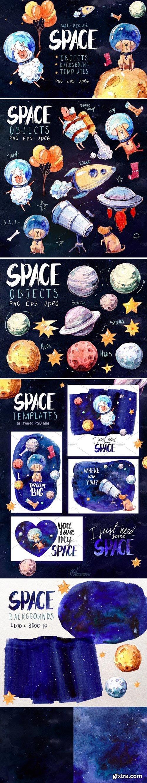 CM - Space! Watercolor set 2400800