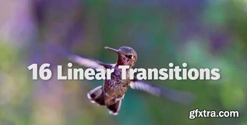 Linear Transitions - Premiere Pro Templates 77585